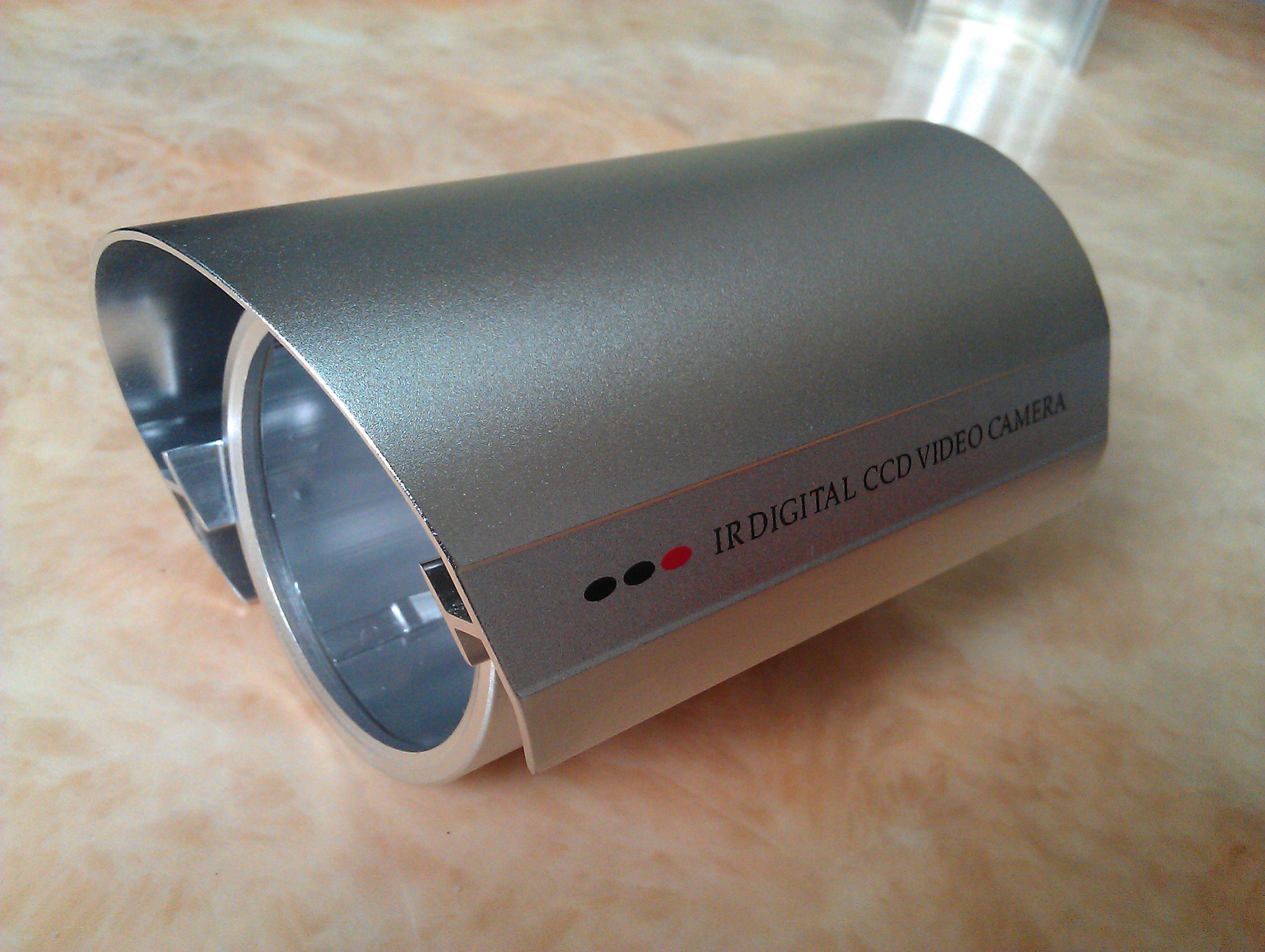 厂家直销老款60防水监控摄像头外壳(各种颜色都有)